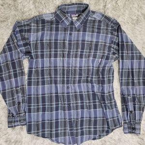 Patagonia Plaid Flanel Shirt Men's Size M